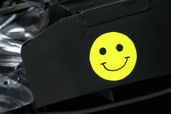 BMW Sauber F1 Team diffusor cover detail