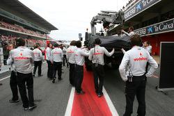 Car of Jenson Button, McLaren Mercedes