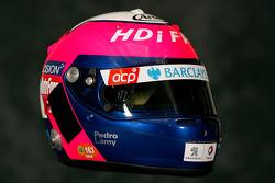 Helmet of Pedro Lamy