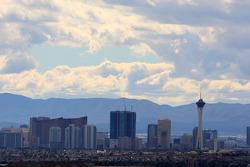 A view of downtown Las Vegas