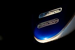 Carlin logo on the car of Max Chilton
