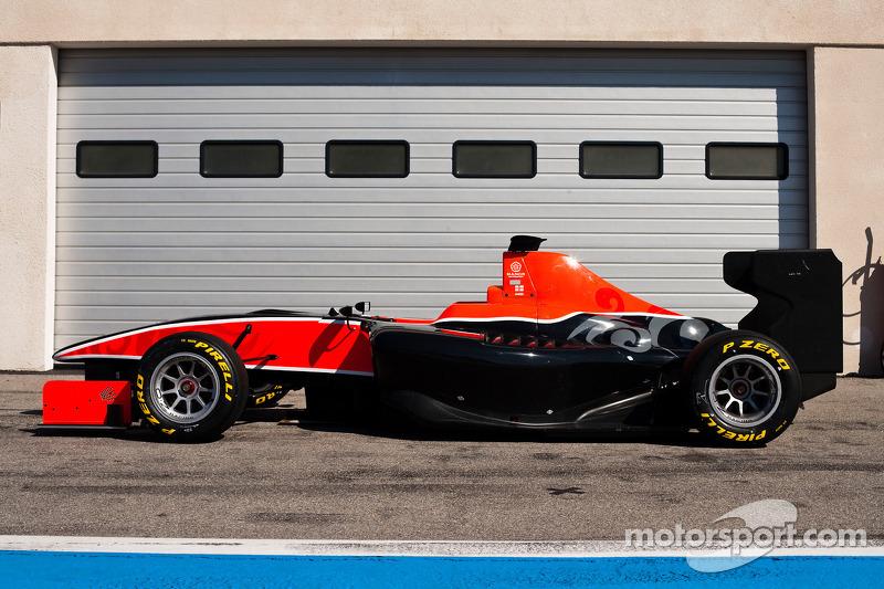 De wagen van Manor motorsport