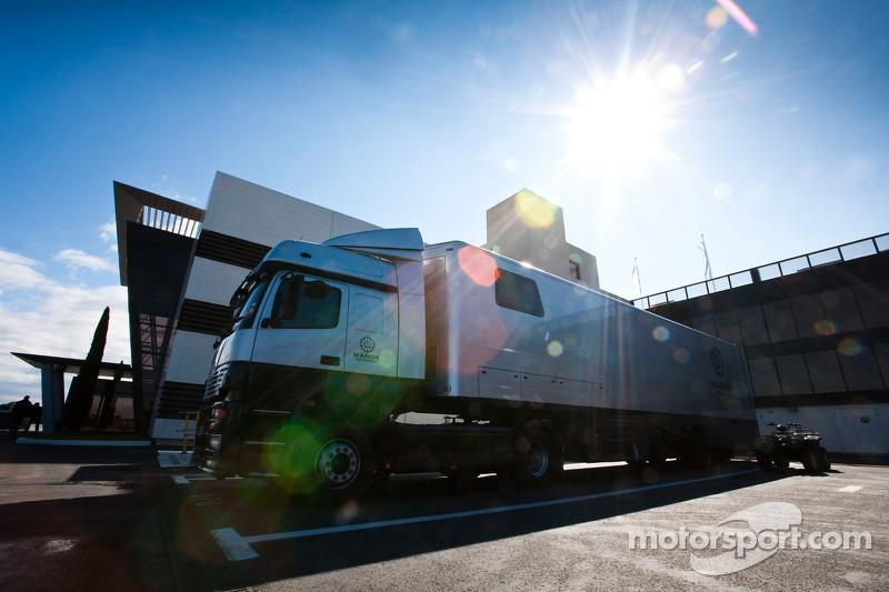 Manor motorsport truck