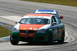 #49 Irish Mike's Racing Volkswagen Jetta: Jack Corthell, John Lettieri