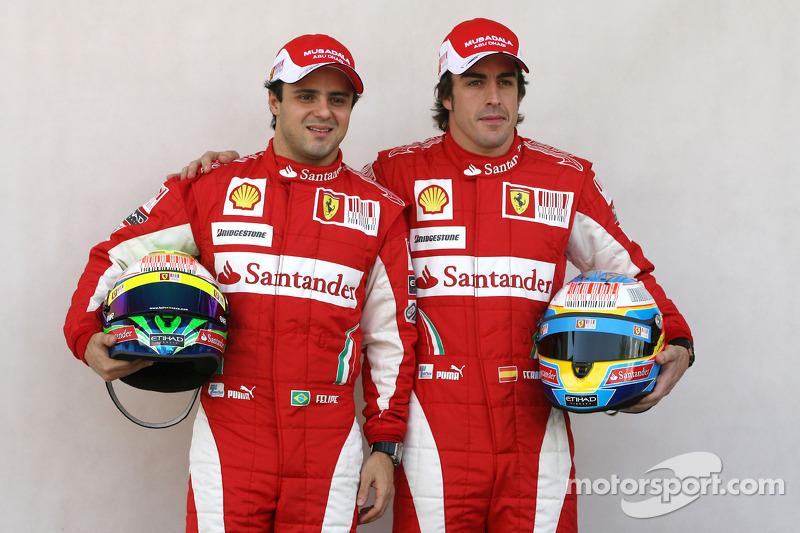 Феліпе Масса і Фернандо Алонсо, Scuderia Ferrari