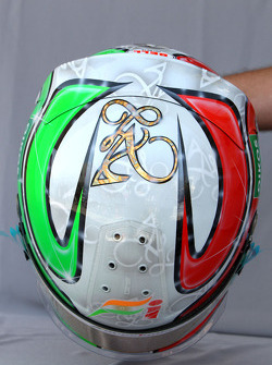 Helmet of Vitantonio Liuzzi, Force India F1 Team