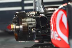 McLaren rear brakes