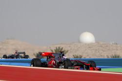 Jenson Button, McLaren Mercedes and Michael Schumacher, Mercedes GP