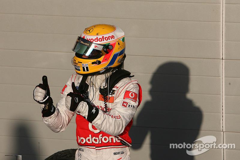 Третій призер Льюіс Хемілтон, McLaren Mercedes