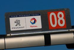 #08 Team Peugeot Total Peugeot 908 HDI FAP