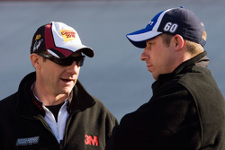 Carl Edwards' Nationwide crew chief Drew Blickensderfer, and Greg BIffle's cup crew chief Greg Erwin