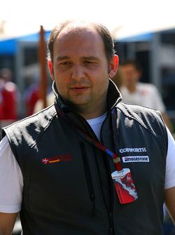 Colin Kolles Hispania Racing F1 Team Team Principal