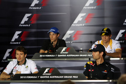 Jarno Trulli, Lotus F1 Team, Bruno Senna, Hispania Racing F1 Team, Vitaly Petrov, Mark Webber, Red Bull Racing, Renault F1 Team