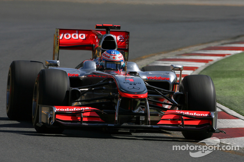 2010: Jenson Button, McLaren-Mercedes MP4-25