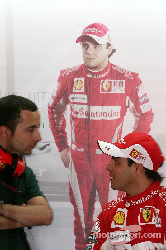 Nicolas Todt, rijdersmanager, Felipe Massa, Scuderia Ferrari
