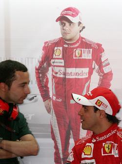 Nicolas Todt, Drivers manager, Felipe Massa, Scuderia Ferrari