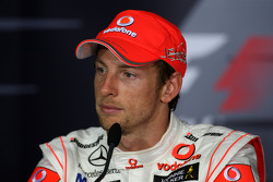 Post-race press conference: Jenson Button, McLaren Mercedes