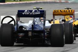 Nico Hulkenberg, Williams F1 Team rear