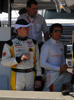 Bertrand Baguette and Mario Romancini