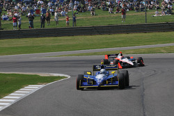 Mike Conway leads Helio Castroneves, Team Penske