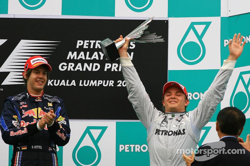 2010: Primer podio de plateado