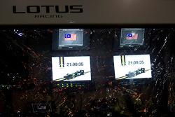 Lotus Racing Pitwall