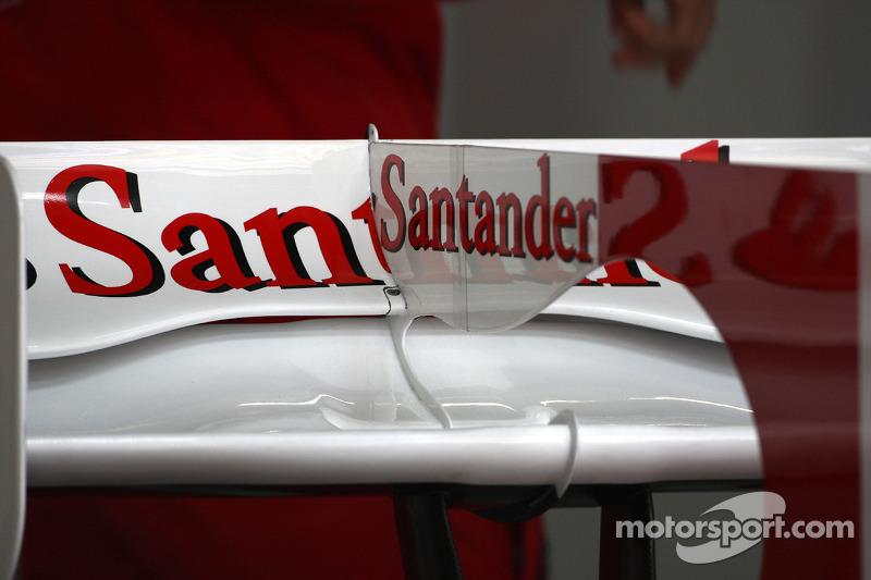 Achtervleugel Felipe Massa, Scuderia Ferrari detail