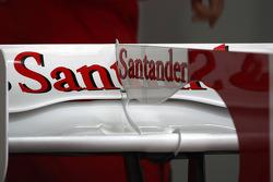 Rear wing of Felipe Massa, Scuderia Ferrari detail