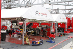 Citroën Total World Rally Team service area