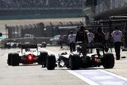 Michael Schumacher, Mercedes GP, Nico Rosberg, Mercedes GP