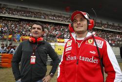 Giancarlo Fisichella, testrijder, Scuderia Ferrari