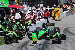 Danica Patrick, Andretti Autosport makes a pitstop