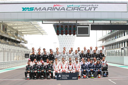 The 2010 FIA GT1 World Championship drivers group shot