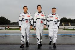 Stéphane Sarrazin, Franck Montagny and Nicolas Minassian