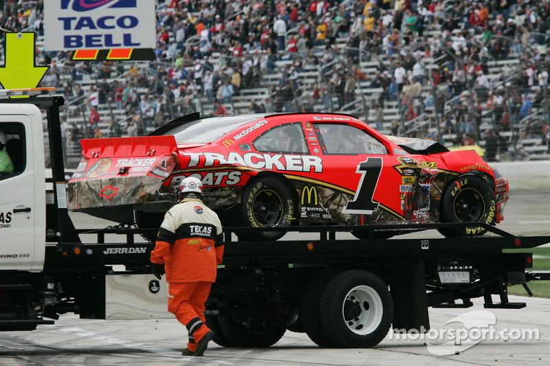 Auto van Jamie McMurray, Earnhardt Ganassi Racing Chevrolet na de crash