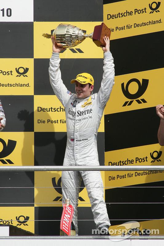 Podium: 3de Jamie Green, Persson Motorsport, AMG Mercedes C-Klasse