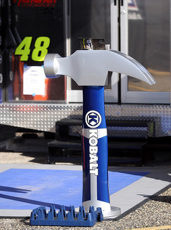 Hero card holder for Jimmie Johnson, Hendrick Motorsports Chevrolet