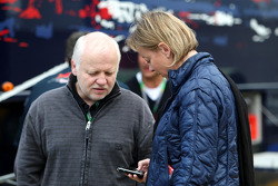 Norbert Vettel, Father of Sebastian Vettel and Sabine Kehm, Michael Schumacher's press officer