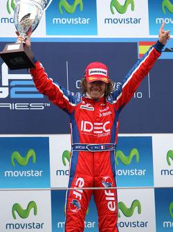 Podium: winner Charles Pic