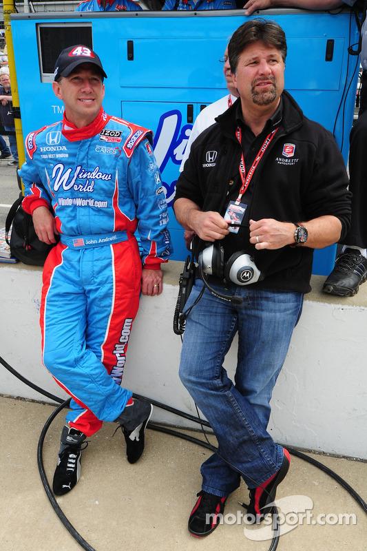 Michael Andretti en John Andretti