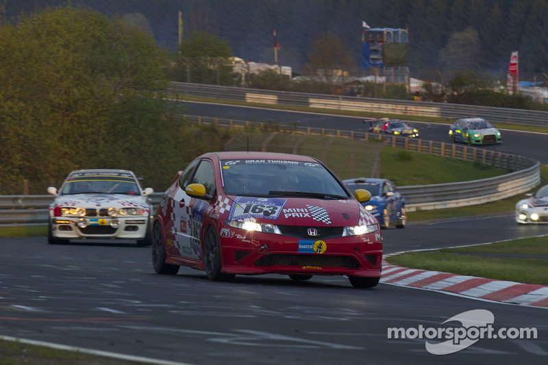 #163 Rikli Motorsport Honda Civic Type-R: Benjamin Leuenberger, Christoph Lotscher, Peter Rikli