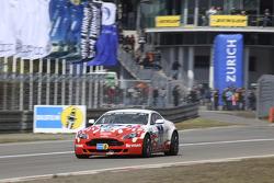 #61 Mathol Racing Aston Martin Vantage V8: Matthias Holle, Rickard Nilsson, Frank Bierther