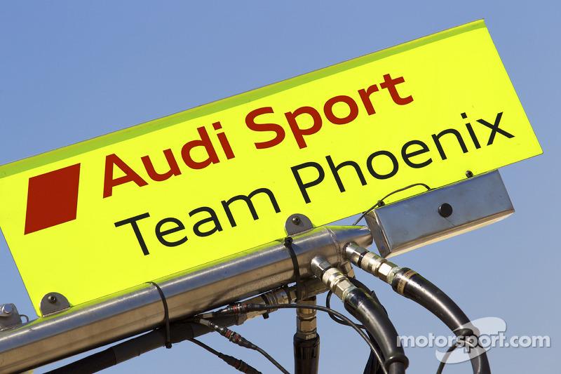 Pitbord Alexandre Prémat, Audi Sport Team Phoenix en Mike Rockenfeller, Audi Sport Team Phoenix