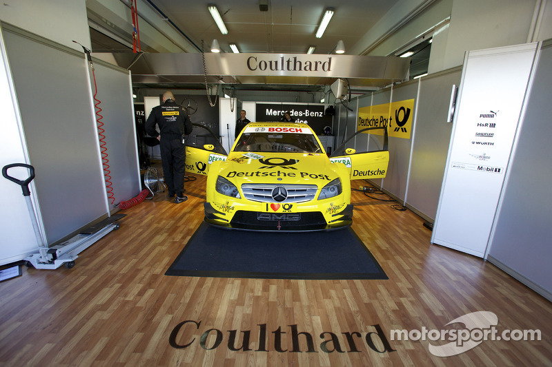 Auto van David Coulthard, Mücke Motorsport AMG Mercedes C-Klasse