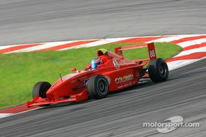 Oscar Tunjo on Formula BMW Pacific