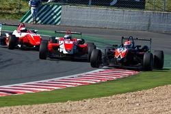 Felipe Nasr leads Daniel mckenzie
