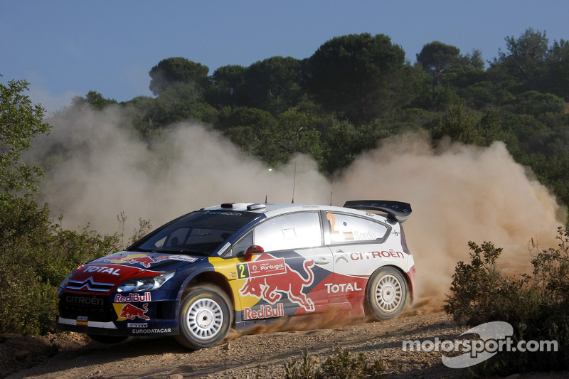 Daniel Sordo en Marc Marti, Citroën C4 Citroën Total World Rally Team
