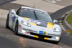 #63 Chevrolet Corvette: Tobias Guttroff, Jens Richter, Arno Klasen, Christian Hohenadel
