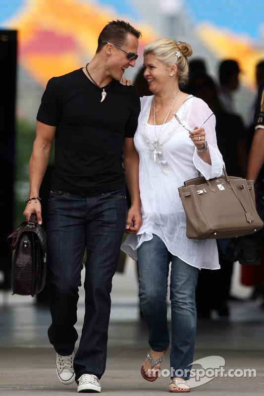 Michael Schumacher, Mercedes GP en vrouw Corinna