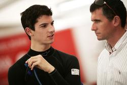 Alexander Rossi avec son père Pieter